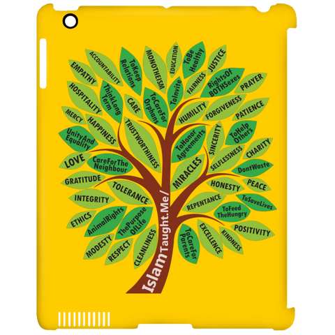 ITM TreeWords COLOR iPad Clip Case