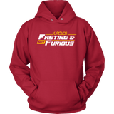 Fasting.Not.Furious WHITE Front PortCo Hoodie