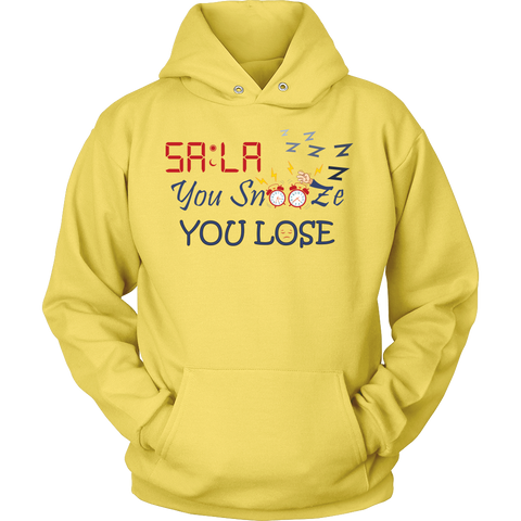 Dont.Snooze.Fajr Front PortCo Hoodie
