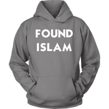 FoundIslam WHITE Front PortCo Hoodie