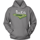 RugLife WHITE Front PortCo Hoodie