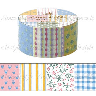 "Amifa Washi tape ""Natural Pattern"""