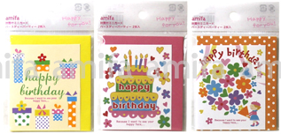Amifa Mini Birthday Cards
