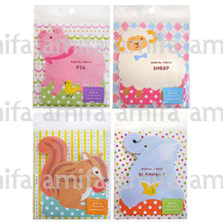 Amifa Sticky Notes Animals