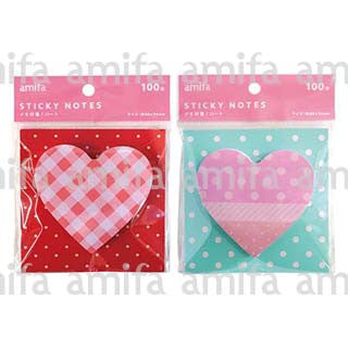 "Amifa Sticky Notes ""Heart"""