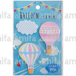 "Amifa Sticky Notes ""Air Balloon"""