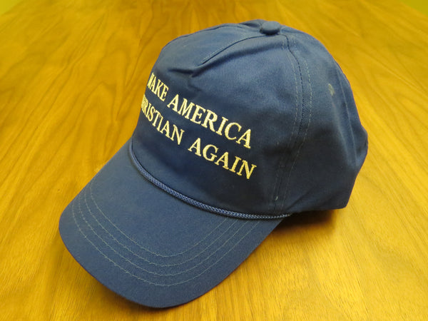 c68f88bb4ebaf MAKE AMERICA CHRISTIAN AGAIN - Blue Hat (Free US Shipping) – Make The  United States Great Again