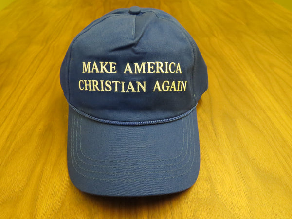MAKE AMERICA CHRISTIAN AGAIN - Blue Hat (Free US Shipping)