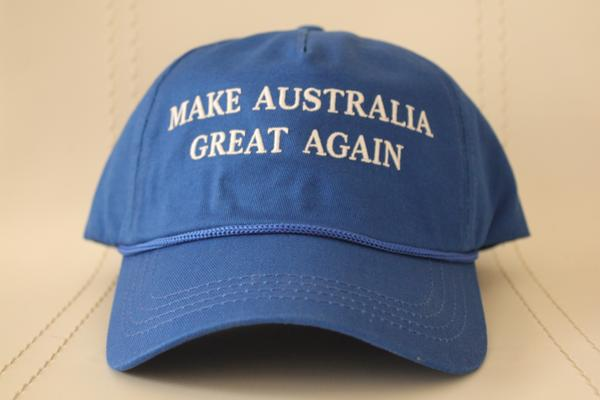 MAKE AUSTRALIA GREAT AGAIN - Blue Hat (Free Australia-wide Shipping)