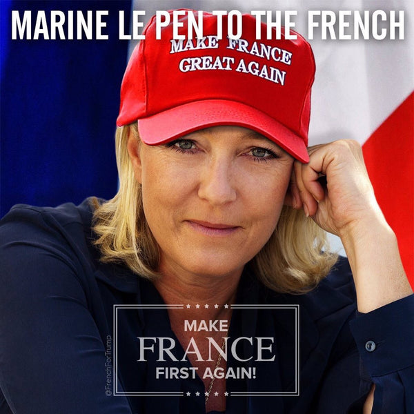 MAKE FRANCE GREAT AGAIN (Red, Free Worldwide Shipping)