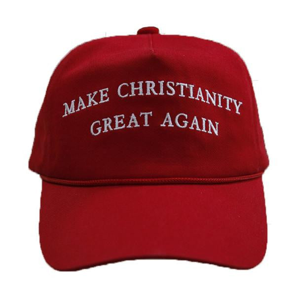 MAKE CHRISTIANITY GREAT AGAIN (Red, Free Worldwide Shipping)