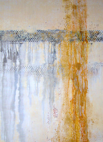 Delicate Morning 4 x 3 feet acrylic on board