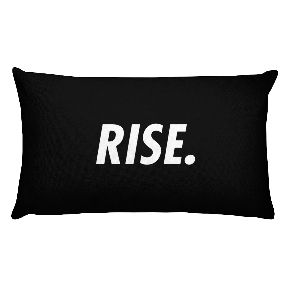 RISE. Pillow