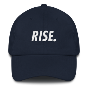 RISE. Hat (Navy/White)