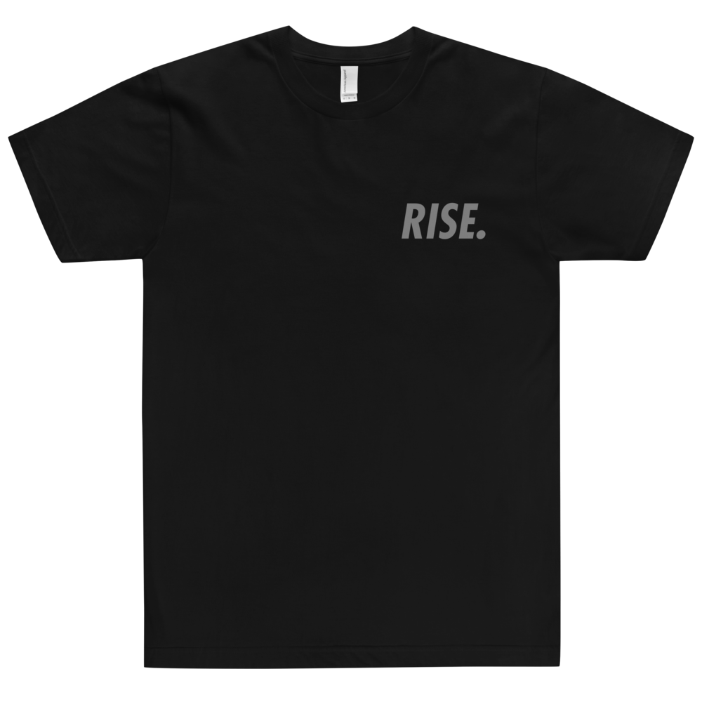 RISE. T-Shirt (Black/Grey)