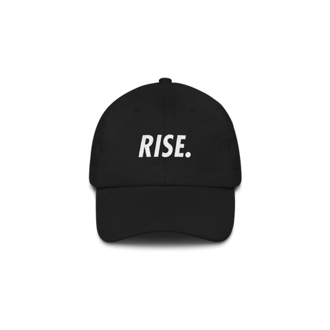 RISE. Hat (Black/White)
