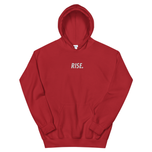RISE. Hoodie (Red/White)