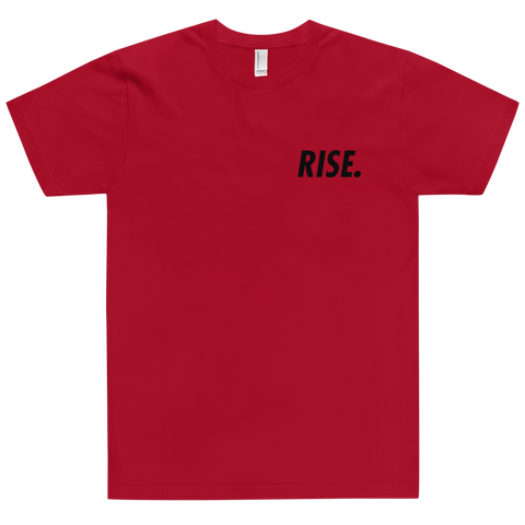 RISE. T-Shirt (Red/Black)