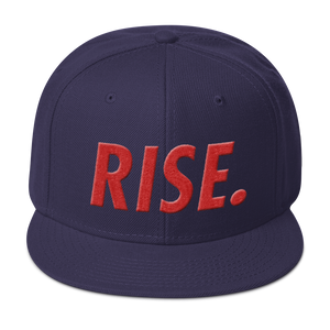 RISE. Snapback (Navy/Red)