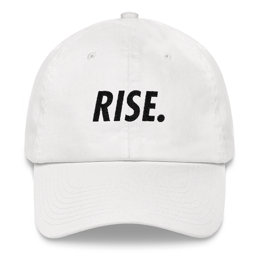 RISE. Hat (White/Black)