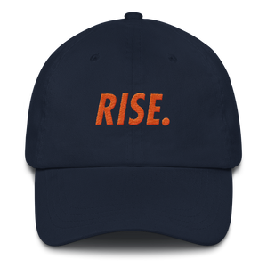 RISE. Hat (Navy/Orange)