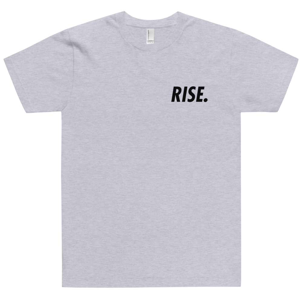 RISE. T-Shirt (Grey/Black)