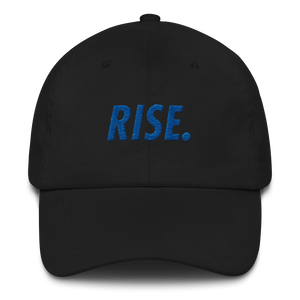 RISE. Hat (Black/Royal)