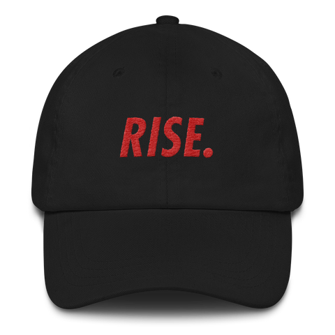 RISE. Hat (Black/Red)