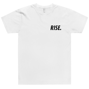 RISE. T-Shirt (White/Black)