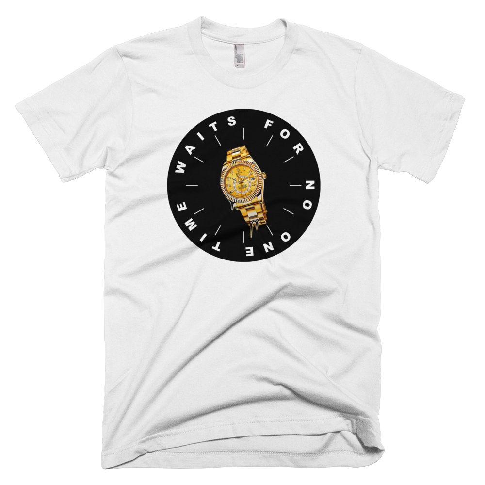 No Time To Waste T-Shirt (White)