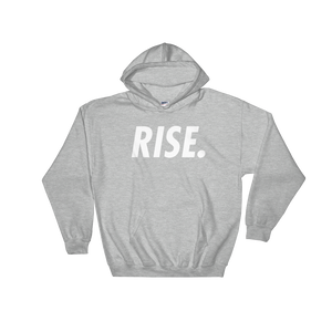 RISE. Hoodie (Grey/White)