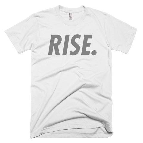RISE. T-Shirt (White/Grey)