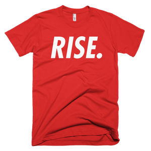 RISE. T-Shirt (Red/White)