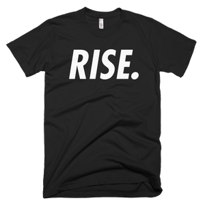 RISE. T-Shirt (Black/White)