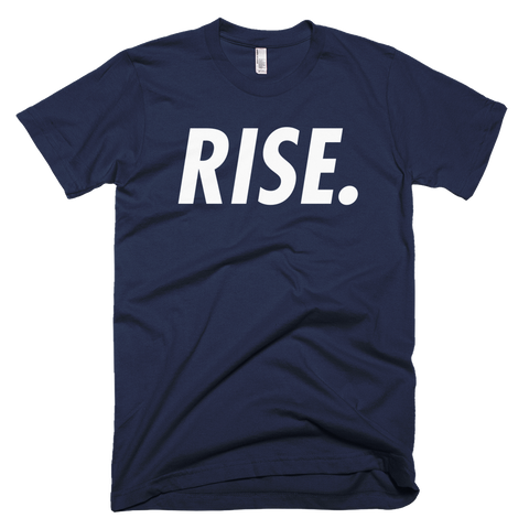 RISE. T-Shirt (Navy/White)