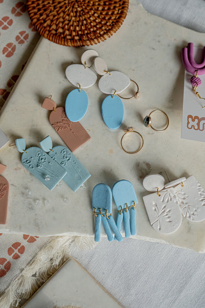 Poppie Clay Earrings