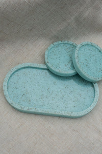 Powder Blue Jewelry Dish