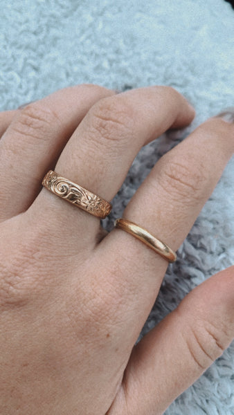 Thick Ring - 14k Gold Fill