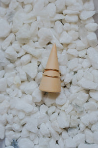 The Gemini Ring - 14k Gold Fill