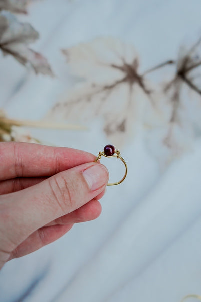 Autumn Bead Ring 3 pack