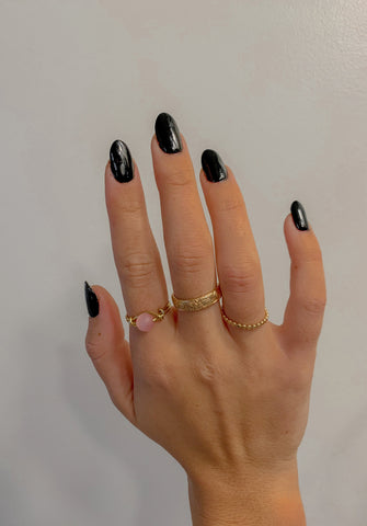 Matte Wednesday Ring