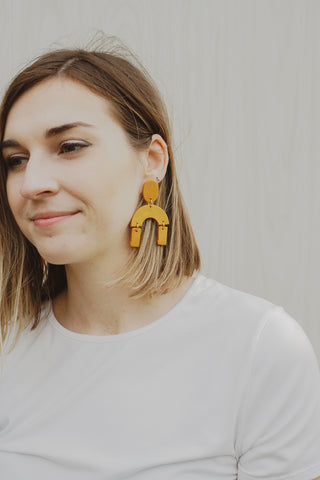 Quinn Clay Earrings