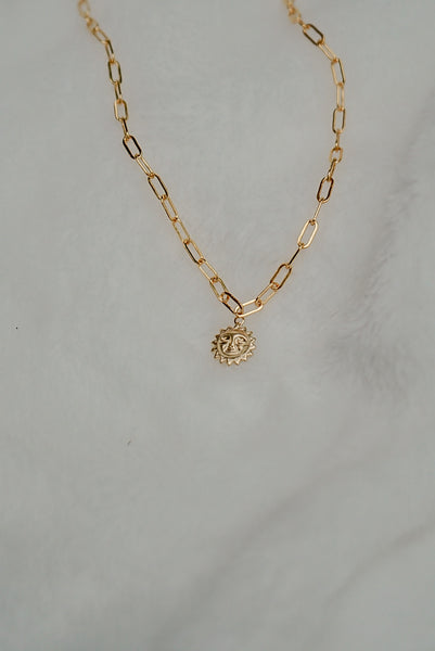 Tuscany Sun Necklace - 14k Gold Fill