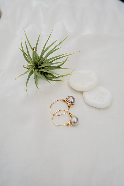 Freshwater Pearl Ring - 12k Gold Filled