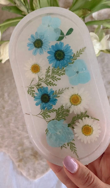 Flower Garden Trinket Dishes