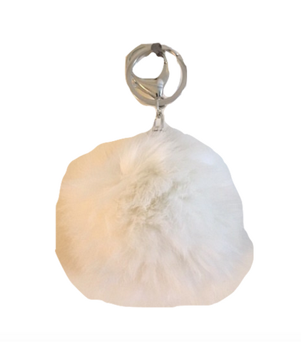 White fur charm - Trendfuse