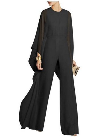 trendfuse, jumpsuit, blakc, bat sleeve, combi, trend, designer, eshop, boutique, fashion,