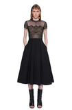 Black lace dress - Trendfuse