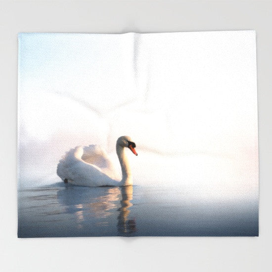 Blanket - Swan Sunrise.