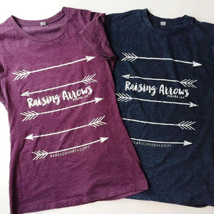 Raising Arrows Fundraiser tee